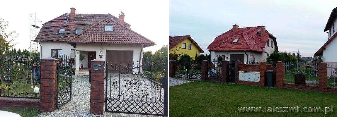 Malowanie Dachówki Betonowej