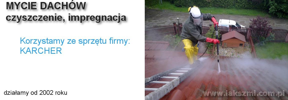 Mycie Dachów Wrocław
