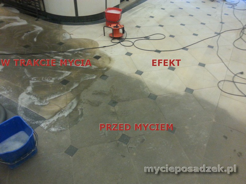 Mycie Piaskowca